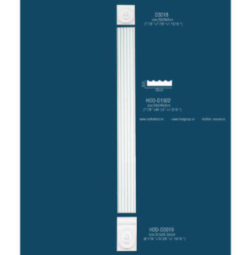 Cột trang trí(cột vuông)
